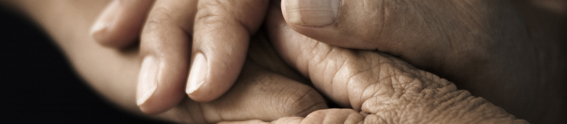 hands holding for wrongful death