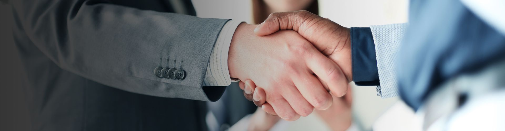 Handshake with an Attorney